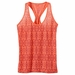 Prana Womens Luca Tank Neon Orange Small