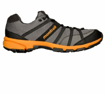Montrail Mens Mountain Masochist II Titanium/ Solar (Close Out)