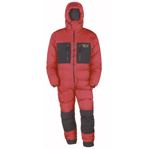 Mountain Hardwear Absolute Zero Suit Red Black Close Out