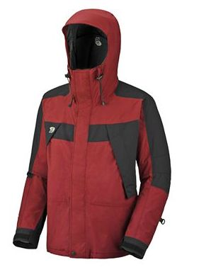 Mountain Hardwear Mens Exposure II Parka Grill/ Black