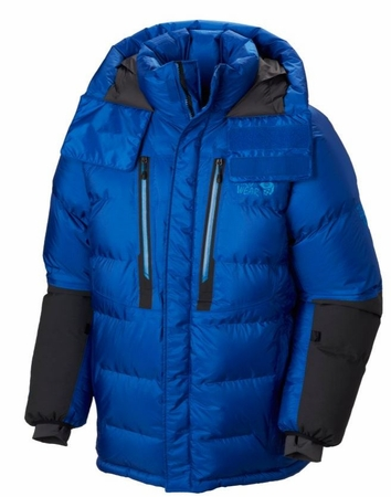 Mountain Hardwear Mens Absolute Zero Parka Azul