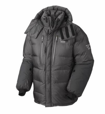 Mountain Hardwear Absolute Zero Parka Shark/ Black 2015