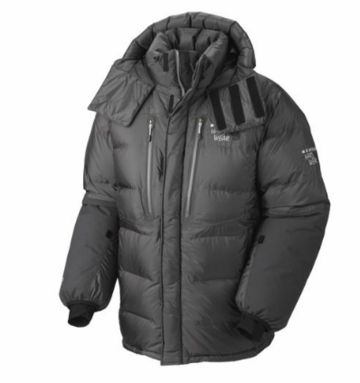 Mountain Hardwear Mens Absolute Zero Parka Shark/ Black (Autumn 2013)