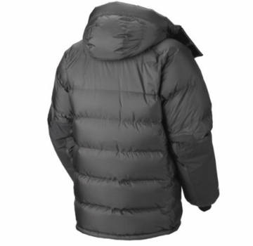 Mountain Hardwear Mens Absolute Zero Parka Shark/ Black (2013)