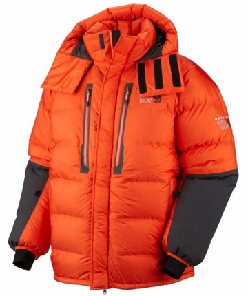 Mountain Hardwear Mens Absolute Zero Parka State Orange