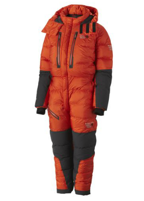 Mountain Hardwear Mens Absolute Zero Suit State Orange 2013