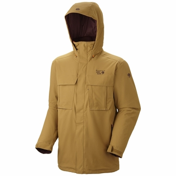 Mountain Hardwear Mens Altaride Jacket Maple XL