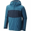 Mountain Hardwear Mens Binx Ridge Quadfecta Jacket Phoneix Blue/ Hardwear Navy