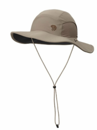 Mountain Hardwear Mens Chiller Wide Brim Hat II Khaki (Spring 2014)