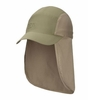 Mountain Hardwear Mens Cooling Ravi Flap Cap Stone Green