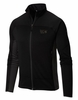 Mountain Hardwear Mens Desna Grid Jacket Black/ Shark