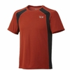 Mountain Hardwear Mens Double Wicked Lite S/S T Russet Orange (Close out)