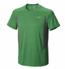 Mountain Hardwear Mens Double Wicked Short Sleeve T Fuse Green (Close Out)