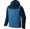 Mountain Hardwear Mens Dragons Back Insulated Jacket Hardwear Navy (close out)