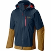 Mountain Hardwear Mens Dragons Back Jacket Hardwear Navy (close out)