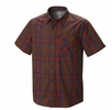Mountain Hardwear Mens Drummond Short Sleeve Shirt Redwood (Close Out)