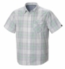 Mountain Hardwear Mens Drummond Short Sleeve Shirt White (Spring 2014)