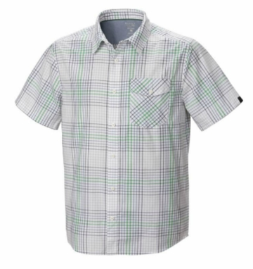 Mountain Hardwear Mens Drummond Short Sleeve Shirt White (Close Out)