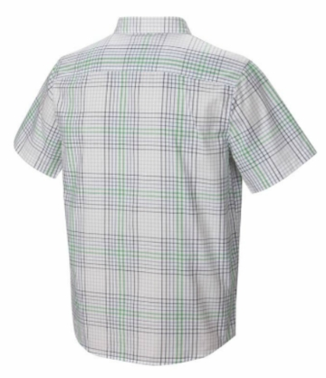 Mountain Hardwear Mens Drummond Short Sleeve Shirt White Small (close out)