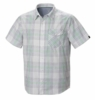 Mountain Hardwear Mens Drummond Short Sleeve Shirt White Small