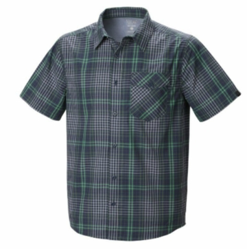 Mountain Hardwear Mens Drummond Short Sleeve Shirt Zinc (Close Out)