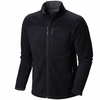 Mountain Hardwear Mens Dual Fleece Jacket Black (Close Out)
