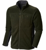 Mountain Hardwear Mens Dual Fleece Jacket Greenscape (Close Out)