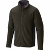 Mountain Hardwear Mens Dual Fleece Jacket Greenscape/ Shark (Close Out)