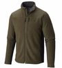 Mountain Hardwear Mens Dual Fleece Jacket Peatmoss/ Shark (Close Out)