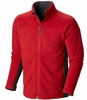 Mountain Hardwear Mens Dual Fleece Jacket Rocket (Close Out)