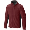 Mountain Hardwear Mens Dual Fleece Jacket Smolder Red/ Shark (Close Out)