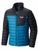 Mountain Hardwear Mens Dynotherm Down Jacket Phoenix Blue/ Black