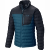 Mountain Hardwear Mens Dynotherm Down Jacket Phoenix Blue/ Hardwear Navy (Close Out)