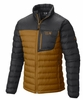Mountain Hardwear Mens Dynotherm Down Jacket Underbrush/ Shark  (close out)