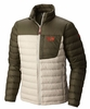 Mountain Hardwear Mens Dynotherm Jacket Fossil/ Peatmoss