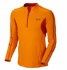 Mountain Hardwear Mens Elmoro Long Sleeve Zip T Solarize  (Autumn 2013)