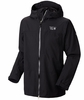 Mountain Hardwear Mens Exposure II Parka Black/ Black