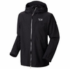 Mountain Hardwear Mens Exposure II Parka Black/ Black (close out)
