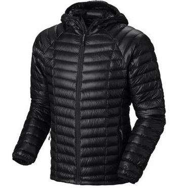 Mountain Hardwear Mens Ghost Whisperer Hooded Down Jacket