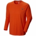 Mountain Hardwear Mens Logo Long Sleeve T State Orange