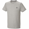 Mountain Hardwear Mens Logo Short Sleeve T Heather Grey (Close Out)