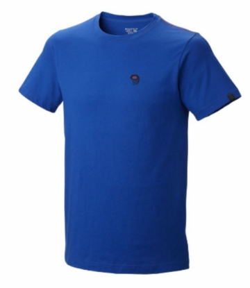 Mountain Hardwear Mens MHW Logo Short Sleeve T Azul (Spring 2014)