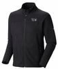 Mountain Hardwear Mens Microchill Jacket Black Medium (Close Out)