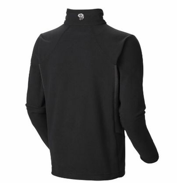 Mountain Hardwear Mens MicroChill Tech Zip-T Black