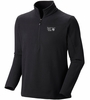 Mountain Hardwear Mens Microchill Zip T Black
