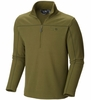 Mountain Hardwear Mens Microchill Zip T Utility Green
