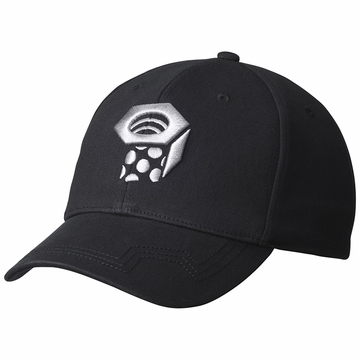 Mountain Hardwear Mens Nut Team Logo Ball Cap Black