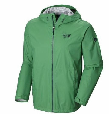 Mountain Hardwear Mens Plasmic Jacket Fuse Green (Close Out)