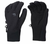 Mountain Hardwear Mens Power Stretch Stimulus Gloves Black
