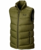 Mountain Hardwear Mens Ratio Down Vest Utility Green (Close Out)